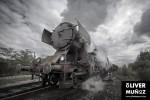 Trenes a vapor en Bosnia Herzegovina
