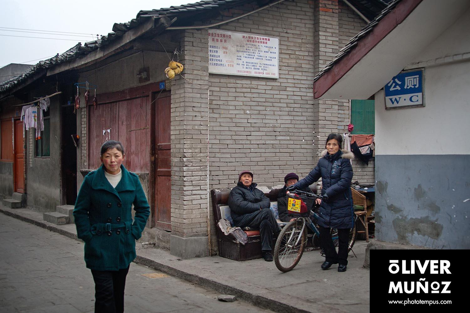 Los hutong de Beijing ( China )