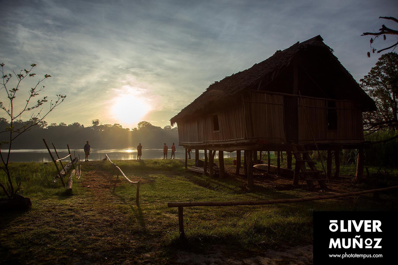 Un chapuzón en el Sepik ( Papua Nueva Guinea )