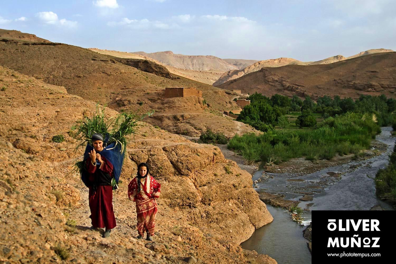 Pueblos del Atlas ( Marruecos )