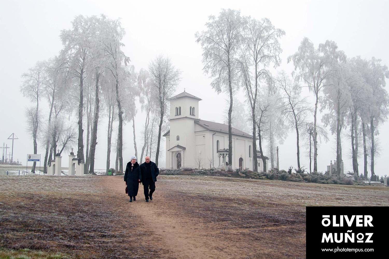 El monte de las cruces ( Polonia )