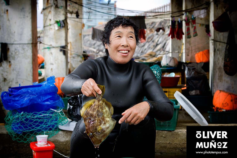 Хэнё - Дайвер женщин из Южной Кореи